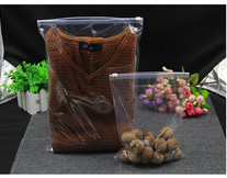 Transparent Plastic Food Storage Bags HDPE / LDPE Material LSZ111809