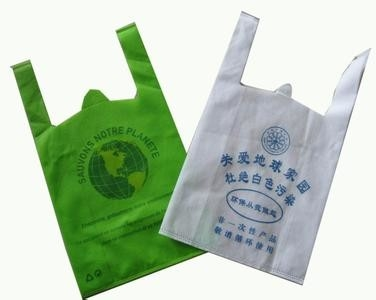 Recycled Reusable Shopping Bags Transparent , Clear Plastic Merchandise Bags